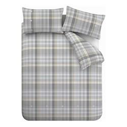 Campbell Double duvet set, 200 x 200cm, grey