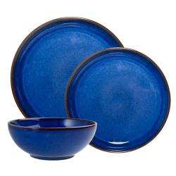 Imperial Blue 12 piece coupe set, blue