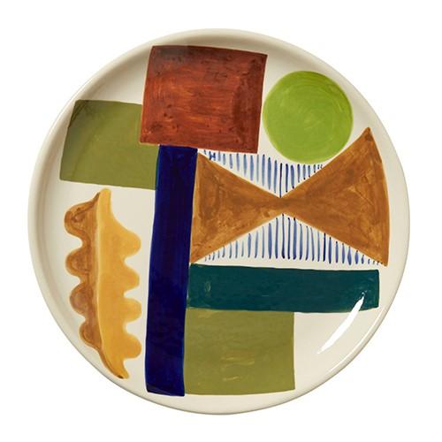 Spring Oak Dinner plate, D26cm, Multi