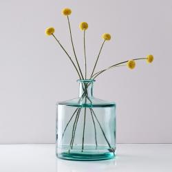 Soho Bottle glass vase, H26 x D21cm, Recycled Glass