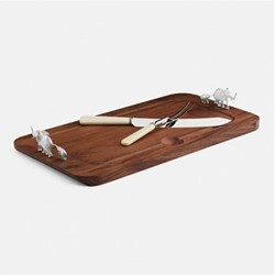 The Highland Safari Collection Carving board, L50 x W29 x D7.5cm, elephant