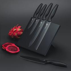 Agudo 5 piece knife set with storage stand