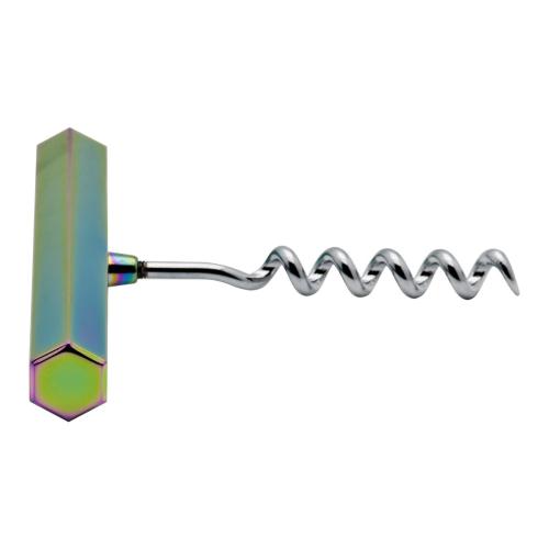 Luxe Cork Screw, H10 x W8cm, Oil Slick