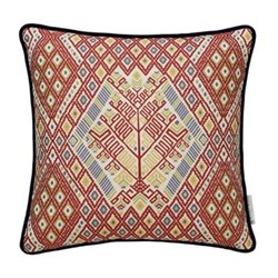 Tree of life Cushion, 50 x 50cm, red multi