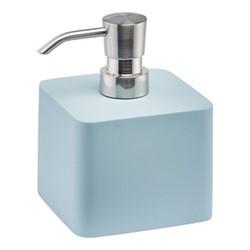 Ona Medium soap dispenser, 9.5 x 9.5 x 11.8cm, aquatic