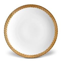 Corde Soup plate, 23cm, gold