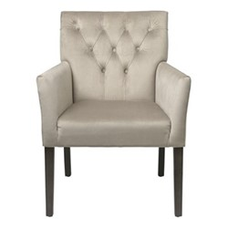 Sander Dining chair, H90 x W60 x D46cm, desert