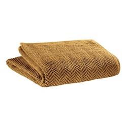 Roberto Maxi bath towel, 100 x 180cm, curry
