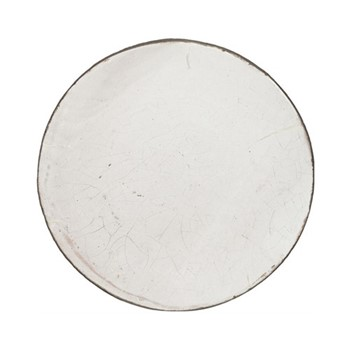 Corinium Serving platter, D30 x H3cm, white