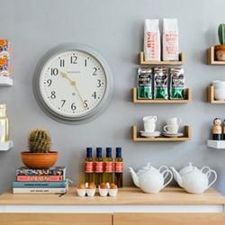 Westhampton Wall clock, 50 x 50 x 60.4, silicone