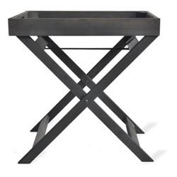 Moreton Tray table, 55 x 55 x 45cm, black