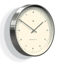 The Oslo Wall clock, 35cm, silver