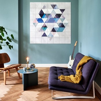 Graphic - Graphic 111 Wall decoration, 140 x 140cm