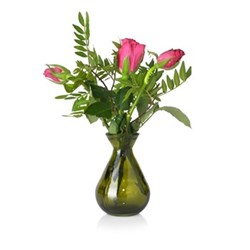 Bud Bud vase, avocado green