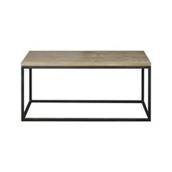 Carter Coffee table, L100 x D60 x H45cm, dark vintage oak