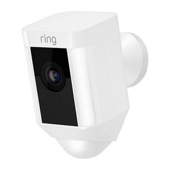 Spotlight camera, 13 x 7 x 8cm, white