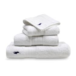 Player Bath towel, 75 x 140cm, white