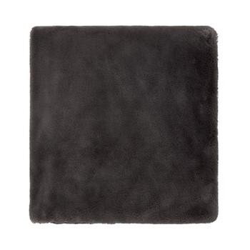 Valloire Throw, L150 x W130cm, graphite