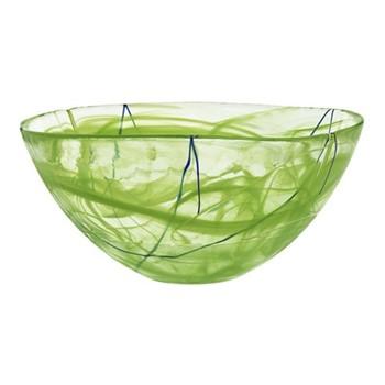 Contrast Bowl, D35cm, lime