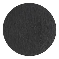 Manufacture Rock Gourmet plate, D31.5cm, Black