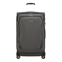 X'Blade 4.0 Spinner expandable suitcase, 78 x 48 x 32/37cm, Grey/Black