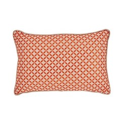 Penzance Cushion, 30 x 45cm, tangerine