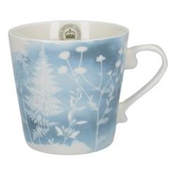 Richmond - Watercolour Meadow Squat mug, H10 - 350ml, blue
