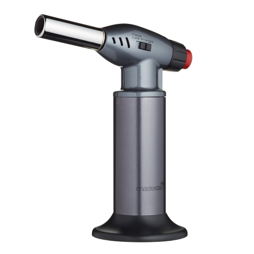 Professional cooks blow torch, chrome