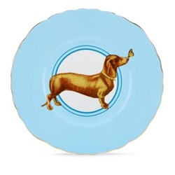 Posh Puppy Set of 6 dessert plates, 22cm