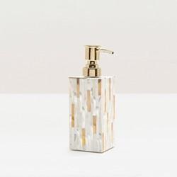 Cortona Soap pump, H19 x W6cm, white