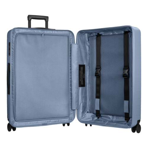 H7 Large check-In trolley suitcase, W52 x H77 x D28cm, Blue Vega