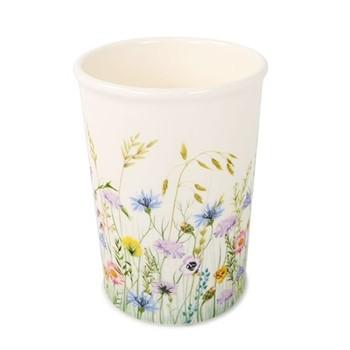 Fleur des Pres Utensil holder/vase, W12 x H20cm, cream