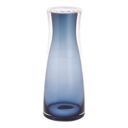 Delilah Carafe and up, 75 and 28cl, blue