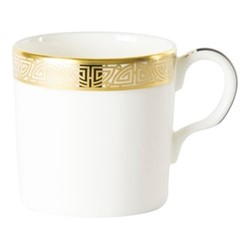 Satori Black Coffee cup, H6cm, black/white/gold