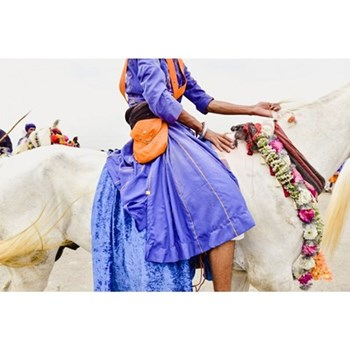Nihang Warrior by Astrid Harrisson Photographic print, 42 x 28cm