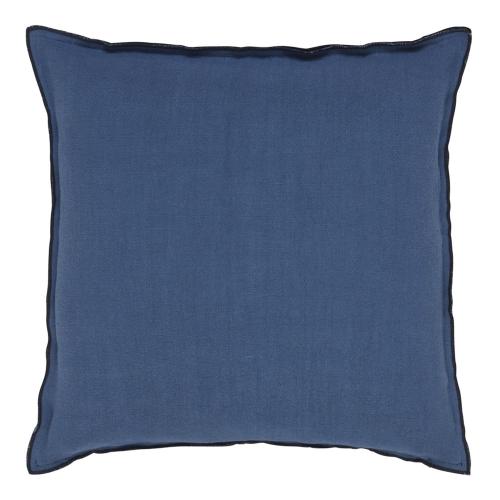 Brero Lino Cushion, H45 x W45cm, Marine