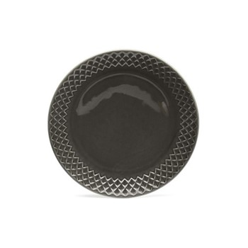 Coffee & More Breakfast side plate, Dia20cm, grey