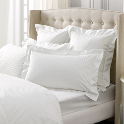 Millennia 1200TC Oxford pillowcase, 50 x 75cm, snow