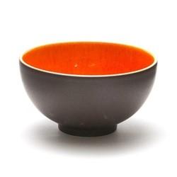 Tourron Natural Large bowl, D14.5cm - 60cl, orange