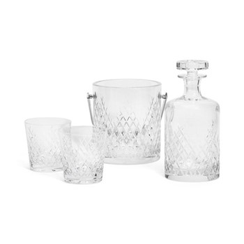 Gifting Whisky crystal set, Clear