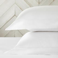 Essentials - 200 Thread Count Egyptian Cotton Oxford pillowcase, 50 x 75cm, White