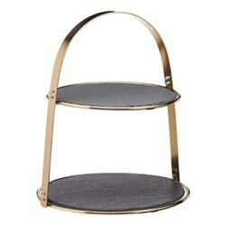 Artesa Arch frame serving stand, 29.5 x 35cm