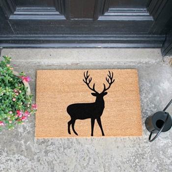 Stag Doormat  , L60 x W40 x H1.5cm