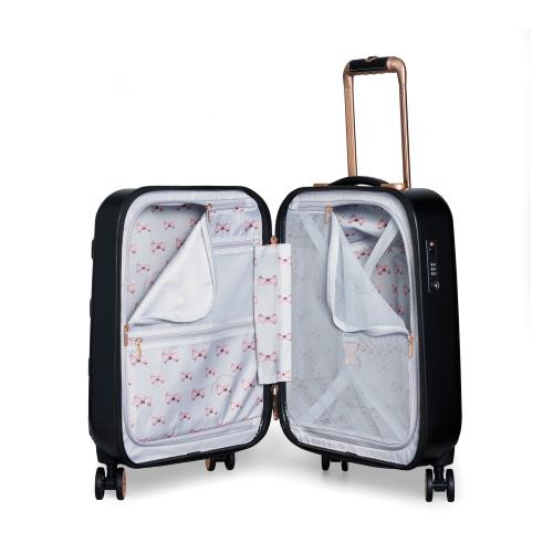 Beau Small suitcase, L54 x W36.5 x D24cm, Black