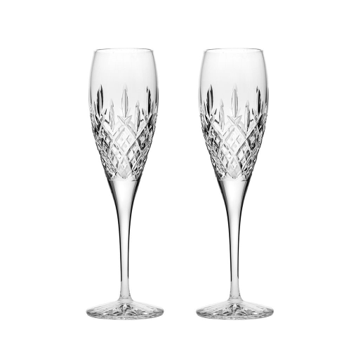 London Pair of Champagne flutes