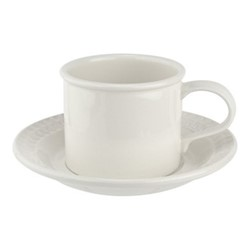 Botanic Garden Harmony Breakfast cup and saucer, 26cl, white