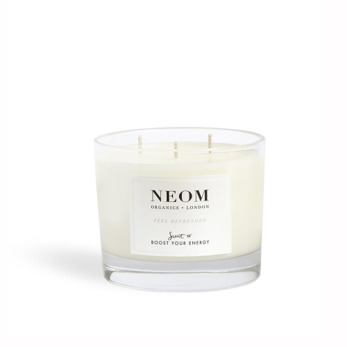 Scent to Boost Your Energy 3 wick scented candle, White