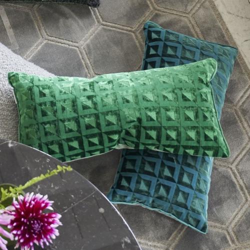 Monserrate Cushion, H30 x W50cm, Ocean