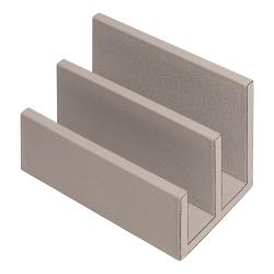 Arthur Letter rack, L19 x D12 x H13cm, Stone