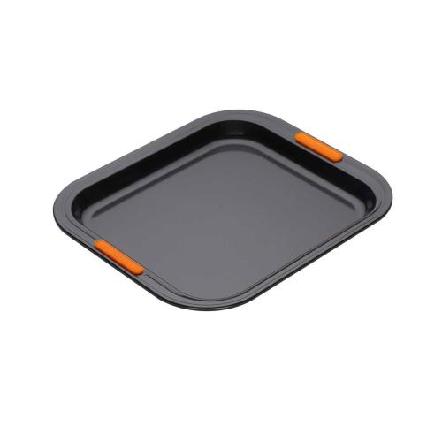 Bakeware Rectangular oven tray, 31 x 28cm, Black